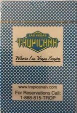 VINTAGE New Tropicana Las Vegas Hotel & CasinoPlaying Cards1 Deck Ephemera