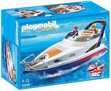 Conjunto de Juego Playmobil 5205 yate de lujo-flota sobre el agua y tiene un gran ancla