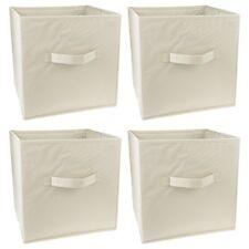 4x Aufbewahrungsbox 29x29x29 Aufbewahrungstruhe Spielzeugkiste Faltbox Faltkiste