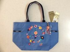 NWT Lesportsac Disney Small World Tahitian Dreams Mermaid Picture Tote NWT LAST1