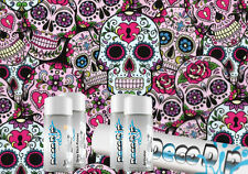 Sugar Skulls DD-155 Intermediate - Dip Kit Hydrographics Water Transfer Printing