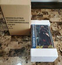 "Cobra Commander Exclusive G.I. Joe SIDESHOW HOT TOYS 1/6 Scale 12"" MIB"