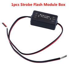 1pcs 12V Alternating Left/Right Strobe Flash Module Box For Fog Lamp, LED Light