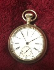 ROSKOPF PATENT POCKET WATCH W/ TRIMUPH J.T.S. & CO CASE SIZE 16