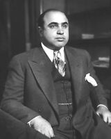 1931 American Gangster, Mobster AL CAPONE Glossy 8x10 Photo Criminal Mob Print