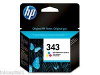HP N 343 COLORE ORIGINALE OEM CARTUCCIA A GETTO di inchiostro C8766EE Officejet