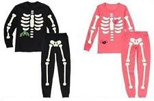 NWT Gymboree SKELETON Halloween Costume 2013 Pajamas Adult/Dad/Daddy/Mom/Mommy