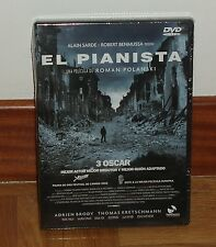 THE PIANIST - DVD - SEALED - NEW - DRAMA - BELIZE - DISCONTINUED -3 OSCAR