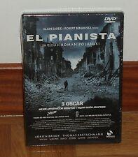 EL PIANISTA - DVD - PRECINTADO - NUEVO - DRAMA - BELICO - DESCATALOGADO -3 OSCAR
