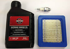 Briggs & Stratton 625 Quantum Lawnmower Engine Overhaul Service Kit Blue Filter