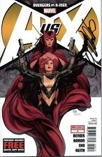 signed variant AVENGERS VS X-MEN #0 4th print FRANK CHO MARVEL SCARLET WITCH