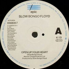 "SLOW BONGO FLOYD open up your heart/another sign instrumental 656839 7 7"" WS EX/"