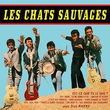 CD Les Chats Sauvages avec Dick Rivers - 1er Album Remasterisée + 2 Titres Bonus
