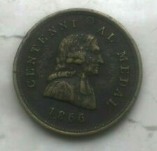 1866 Indiana Ashbury University Centennial Medal