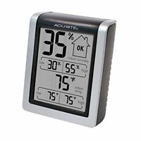 AcuRite 00613 Humidity Monitor with Indoor Thermometer, Digital Hygrometer and H