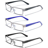 Men Women Clear Lens Reading Eye glasses Fashion Readers 1.50 2.00 2.50 3.00 3.5
