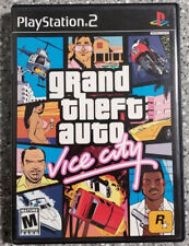 Grand Theft Auto: Vice City + ULTIMATE CODES (PlayStation 2) PS2 GAME COMPLETE