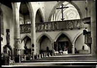 Kirchen Motiv-Postkarte Franziskaner Kirche Rothenburg ob der Tauber AK ca. 1960