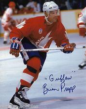 Team Canada Brian Propp Signed Autographed 8x10 Photo COA