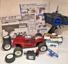 1/18 Team Associated RC18T Trinity Monster Motor XP2 Radio System w/ RPM Bumper