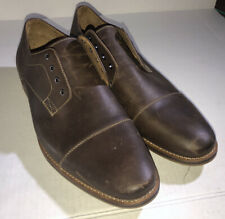 1901 Nordstrom Mens Brown Leather Wing Tip  Classic Dress Shoes Sz 11