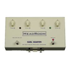 Carl Martin HeadRoom Spring Reverb Effects Pedal +Picks