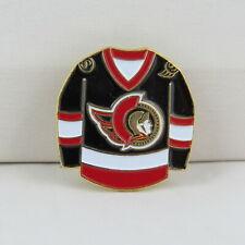 Ottawa Senators (NHL) Pin - Away Team Jersey (Black) - Stamped Pin