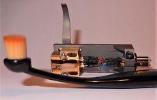 Nadelreinigungsbürste / Tonabnehmer, Kopf zyl. 10mm, syntetische Feinhaare
