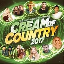 CREAM OF COUNTRY 2017 VARIOUS ARTISTS CD & DVD REGION 0 PAL NEW