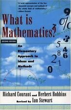 What Is Mathematics? : An Elementary Approach to Ideas and Methods by Richard Co