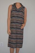 cf6771092c NEIMAN MARCUS Women s 100% Cashmere Sleeveless Multi Color Bodycon Dress  Size XL