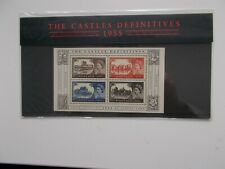 GB 2005 THE CASTLES DEFINITIVES 1955 MINIATURE SHEET PRESENTATION PACK NO.69