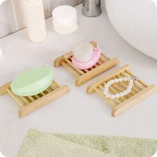 Holz Seifenschale Seifenablage Bambus Seifenhalter Bad Dusche Halterung Dekors