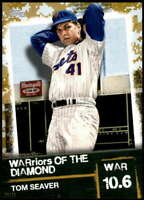 Tom Seaver 2020 Topps WARriors of the Diamond 5x7 Gold #WOD-6 /10 Mets