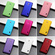 For LG Optimus F6 New Snap On Rubberzied hard Matte case cover