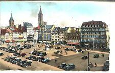 CP 67 Bas-Rhin - Strasbourg - Place Kléber colorisée