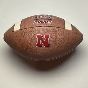 2020 Nebraska Cornhuskers Game Ball Adidas Dime NCAA Football - University B10