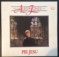 "ALED JONES - PIE JESU - Vinyl 12"" LP 1986 10 Records AJ2 VG/VG"