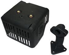 Silenciador De Tubo De Escape Con Protector & Colector para HONDA GX240 GX270