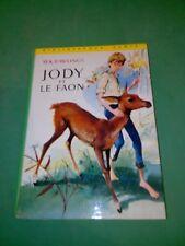 Rawlings - Jody et le faon - Bibliothèque Verte (1966)