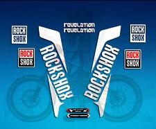 PEGATINAS HORQUILLA STICKERS FORK ROCKSHOX REVELATION AM38 AUFKLEBER DECALS MTB