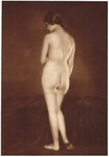 1920's Vintage Hungarian Female Nude K. Schencker Art Deco Photo Gravure Print