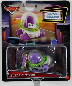 Disney Pixar Cars Drive-In Diecast Vehicle - Toy Story Buzz Lightyear