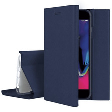 Cover Case Flip Cover Color Blue Dark for Apple Iphone 7 8