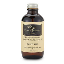 Karma organic naturals Nail Polish Remover with vitamin E Unscented 4 fl.oz