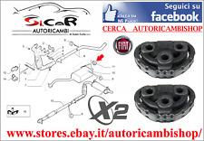 2X SUPPORTO TERMINALE MARMITTA  FIAT 500 (312) - FIAT PANDA 169 DAL 2003 >