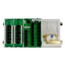 Leviton Structured Media Distribution Panel with 12-Mod RJ-45 Outputs 110 IDC