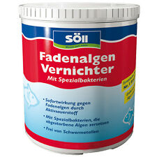 SÖLL FadenalgenVernichter gegen Fadenalgen 500 g für 16 m³ Teich Algenmittel
