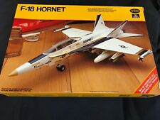 Vintage 1/72 Testors McDonnell Douglas F-18 Hornet Kit
