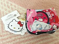 LeSportsac x Hello Kitty SQUARE COSMETIC Pouch 6701.G631 NEW